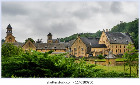 Orval Abbey, Cistercian monastery in the Gaume region of Belgium