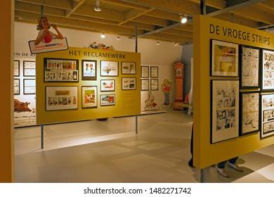 Orvelte, the Netherlands - August 18, 2019: Jan Kruis Museum in Orvelte in Museum Village Orvelte in Drenthe, the Netherlands