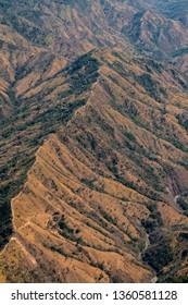The Osa Ridgeline