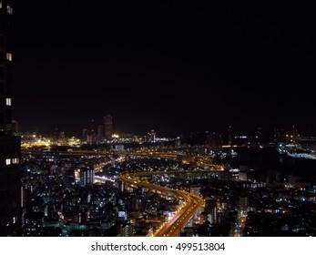 Osaka bay Japan