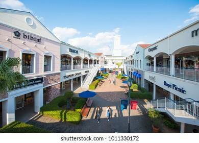 Osaka, Japan - November 16, 2017 :The main shopping destinations in Rinku Town are the Rinku premium outlet mall, Osaka, Japan