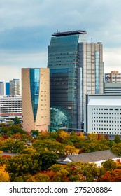 OSAKA, JAPAN - OCTOBER 27: Museum of History in Osaka, Japan on October 27, 2014.Exhibits are visually oriented with city's history when Osaka was a Japan's first capital and site of the Naniwa Palace