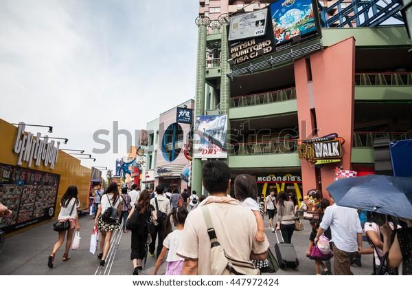 Osaka Japan September 2013 : Holiday in Japan - Japan Universal Studio