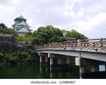 Osaka jio castle in osaka, japan