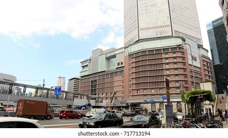 Osaka Station, Japan. Is A Japan Rail's station at Business district of Osaka. 2017 Aug 30th