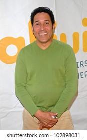 Oscar Nunez  at the Vital Juice Pop-Up Wellness Retreat, Sunset Marquis, West Hollywood, CA. 04-09-10