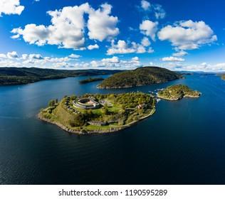 Oscarsborg Norway Drøbak Oslofjorden