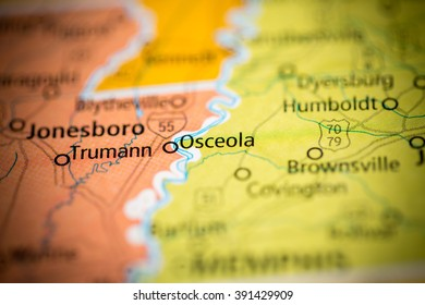 Osceola Map Images Stock Photos Vectors Shutterstock