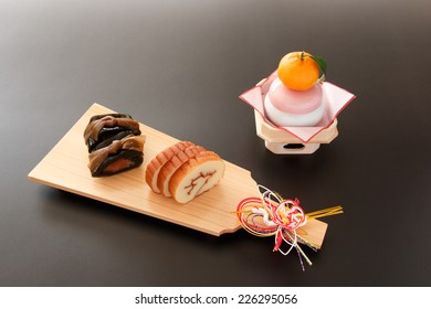 Osechi dishes -- traditional New Year's foods in Japan