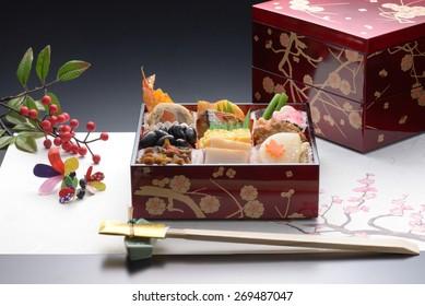Osechi, Japanese new year celebration food