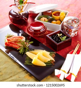 Osechi (traditional Japanese New Year's dish)