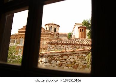 Osios Loukas Monastery, Distomo, Greece - Shutterstock ID 1878510166