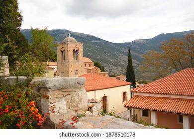 Osios Loukas Monastery, Distomo, Greece - Shutterstock ID 1878510178