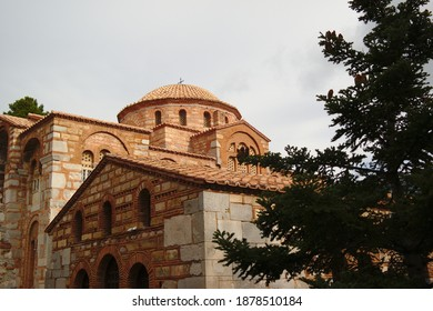 Osios Loukas Monastery, Distomo, Greece - Shutterstock ID 1878510184