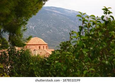 Osios Loukas Monastery, Distomo, Greece - Shutterstock ID 1878510199