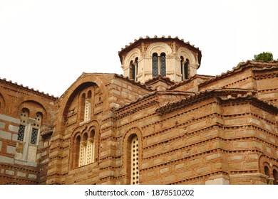 Osios Loukas Monastery, Distomo, Greece - Shutterstock ID 1878510202