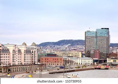 Oslo, a city landscape