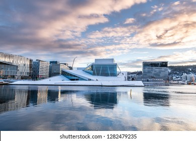 Oslo city and skyline. Norway