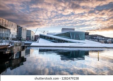 Oslo city and skyline. Norway