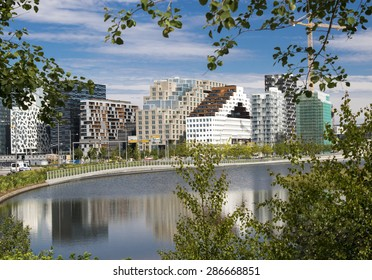 Oslo, Downtown, Bjoervia  bjørvika Norway