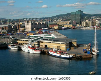 Oslo harbor.