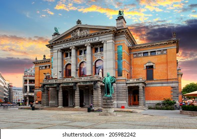 Oslo national theatre, Norway