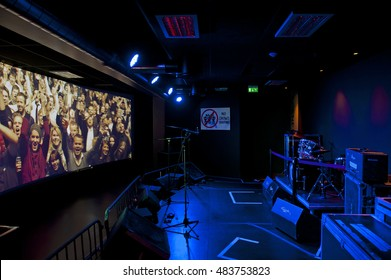 OSLO, NORWAY - AUGUST 28, 2016: Popsenteret - The Pop - Centre Interactive Museum in Oslo.