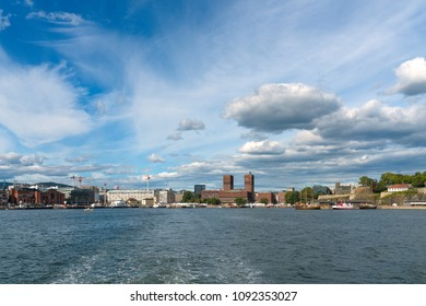 Oslo, Norway - City Skyline with the Townhall