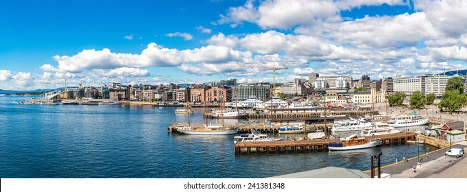 The Oslo Norway Harbor is one of Oslo's great attractions. Situated on the Oslo Fjord in Oslo, Norway