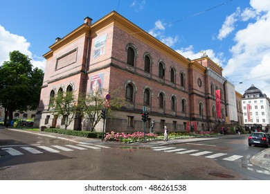 OSLO, NORWAY - JULY 29, 2016: The National Gallery is a gallery. Since 2003 it is administratively a part of the National Museum of Art, Architecture and Design in Norway in Oslo.