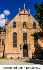 OSLO, NORWAY - JUNE 20, 2017: Architecture of Oslo, the capital of Norway