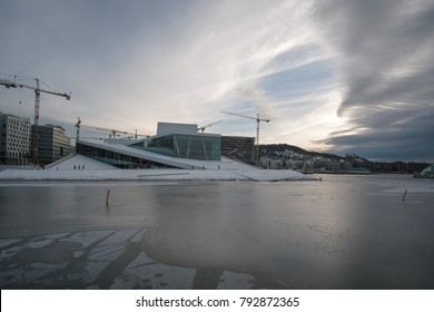 Oslo Opera House, the home of The Norwegian National Opera and Ballet