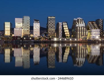 Oslo Skyline by night
