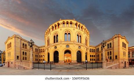 Oslo stortinget parliament, Norway