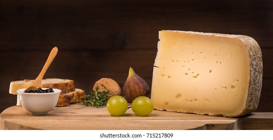 Ossau-Iraty, French cheese, Pyrenees, France