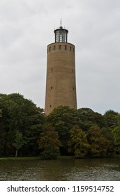 Ostend, Belgium - September 9, 2014: water tower Maria Hendrikapark Ostend