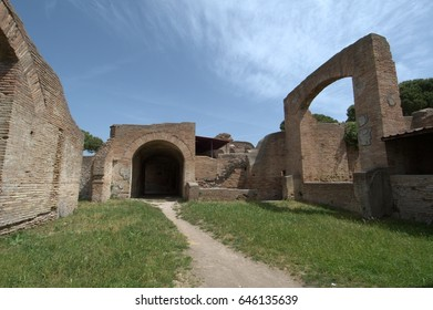 Ostia - ancient harbor of Rome