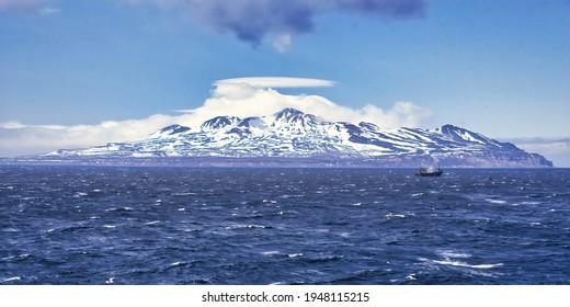 Ostrov Kettoy Island, Kuril Islands, Sea of Okhotsk, Russian far East, Russia - Shutterstock ID 1948115215