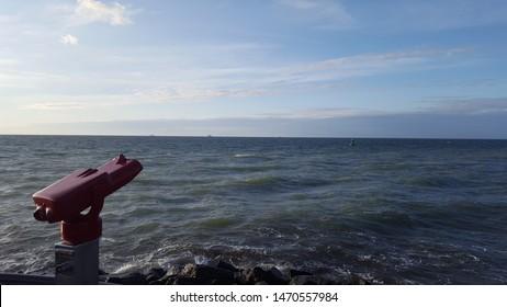 Ostsee Wasser Aussicht Himmel Urlaub