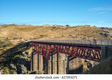 Otago Rail Trail bridge