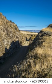 Otago Rail Trail cutting