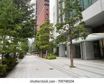 Otemachi's office building city
