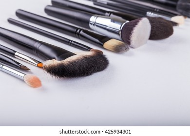 Other make-up brush on white background