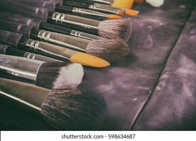 Other make-up brush on white background