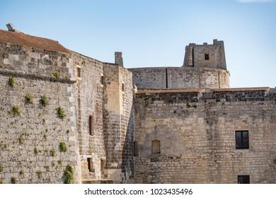 Otranto old fortress landscape