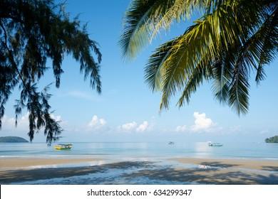 Otres Beach in Sihanoukville, Cambodia