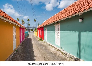 Otrobanda Side streets Views around the Caribbean Island of Curacao