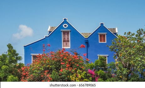 Otrobanda Town Curacao a small island in the Caribbean