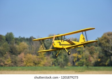 OTROKOVICE,CZECH REPUBLIC OCTOBER 13,2018 show of participant on display at RC Planes Sky Closening in Otrokovice,Czech republic