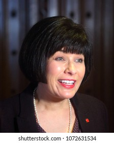 OTTAWA - APRIL 18, 2018: Ginette Petitpas Taylor is the current Minister of Health in the Liberal government of Prime Minister Justin Trudeau.